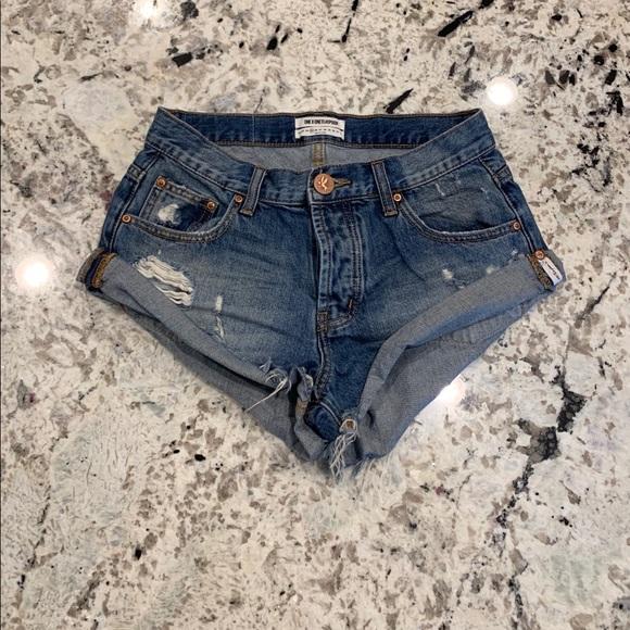 One Teaspoon Pants - One Teaspoon Bandits Shorts